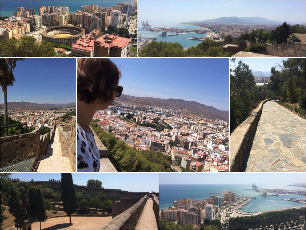 Impressionen vom Castillo de Gibralfaro