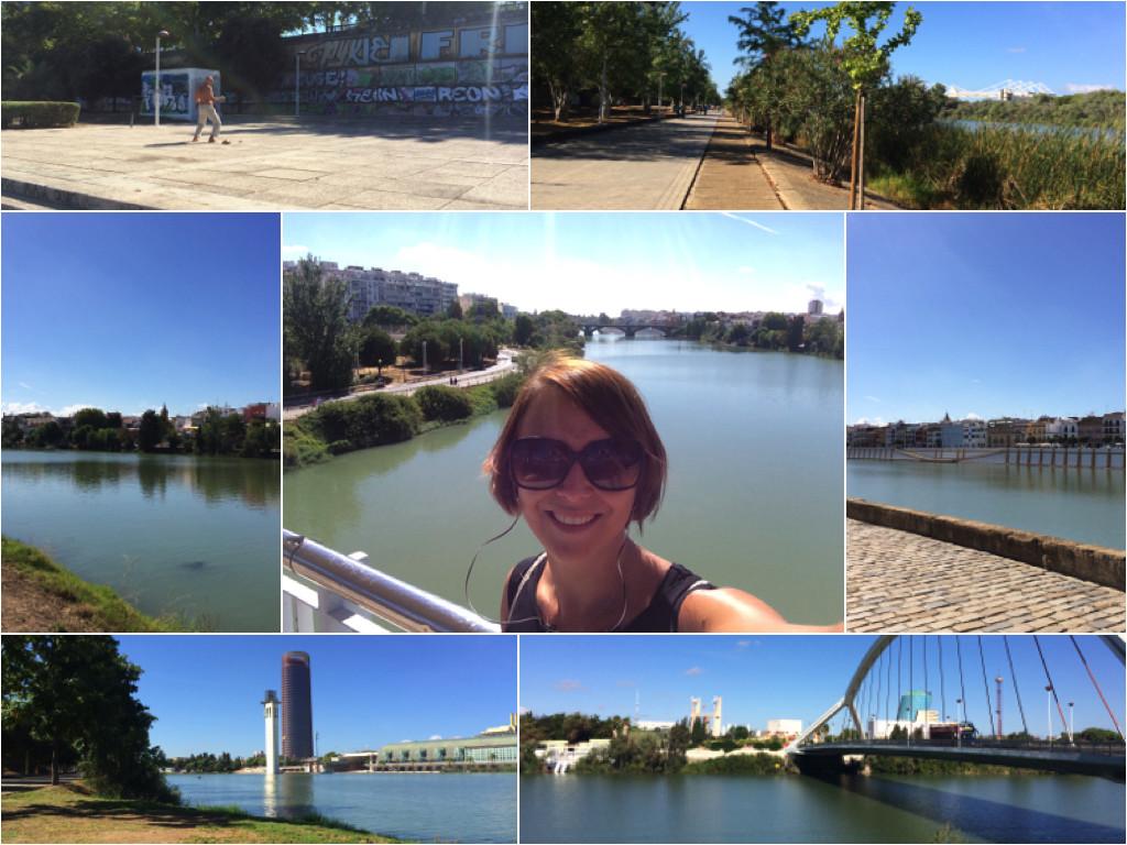 Impressionen von Sevilla entlang des Guadalquivir