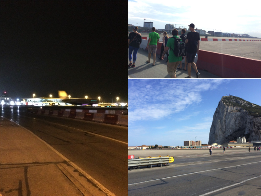 Start- und Landebahn Flughafen Gibraltar