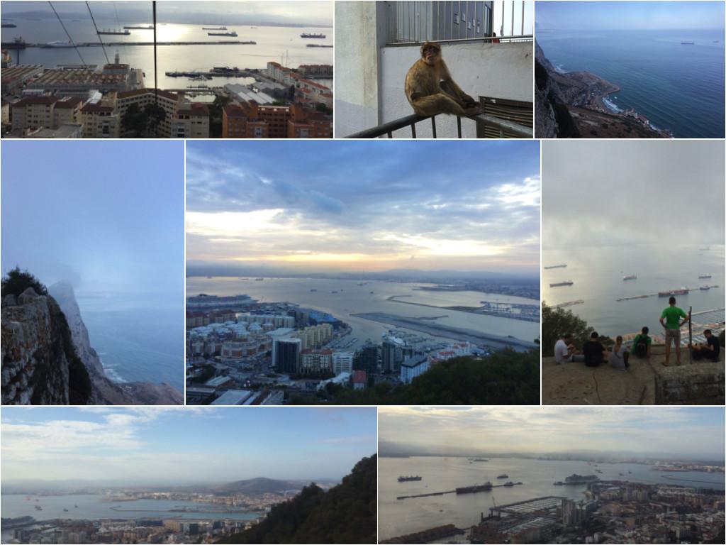 Auf dem Felsen von Gibraltar
