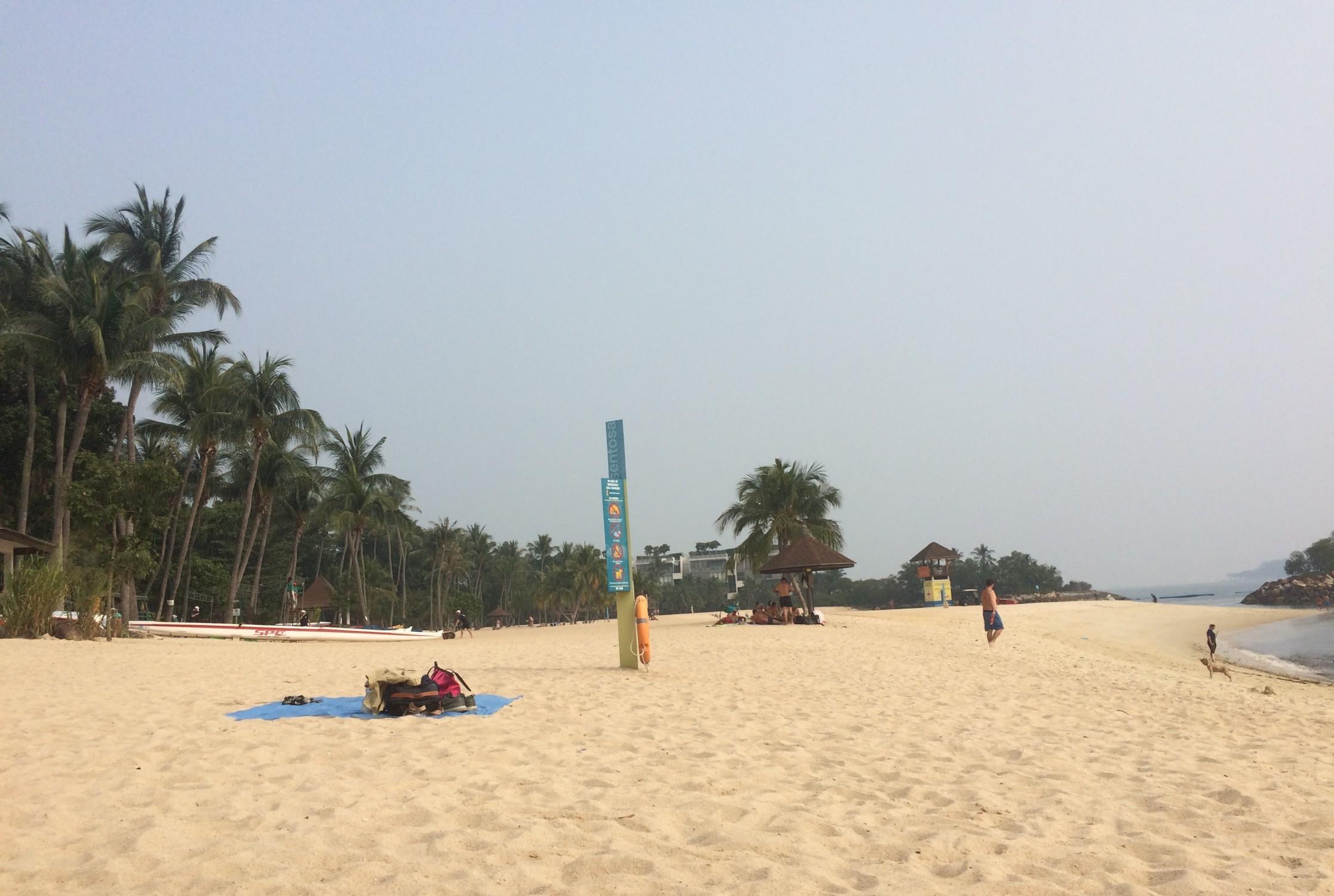 Sentosa beach #2