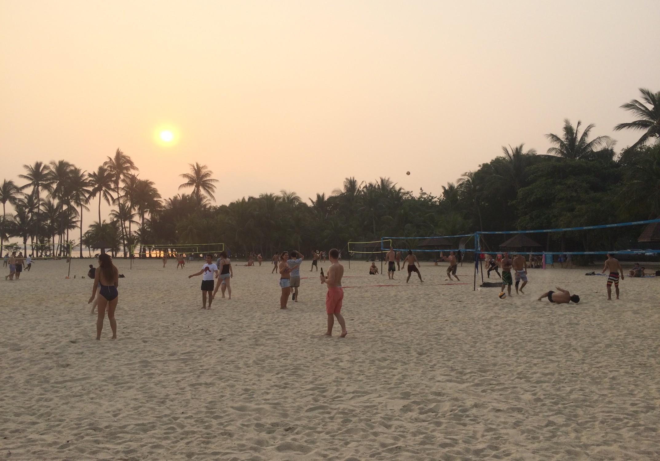 Sentosa beach #1